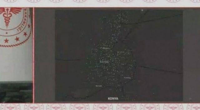 Bakan Koca, koronavirüs vakalarının yoğun olduğu illerin haritasını açıkladı!
