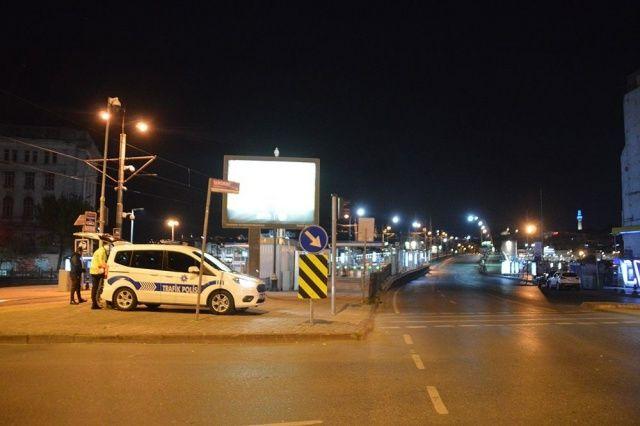 'Sessiz şehir' İstanbul'dan manzaralar