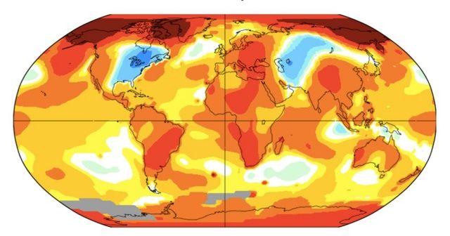Tüm zamanların sıcaklık rekoru! Küresel ısınma dünya haritasını nasıl değiştirecek?