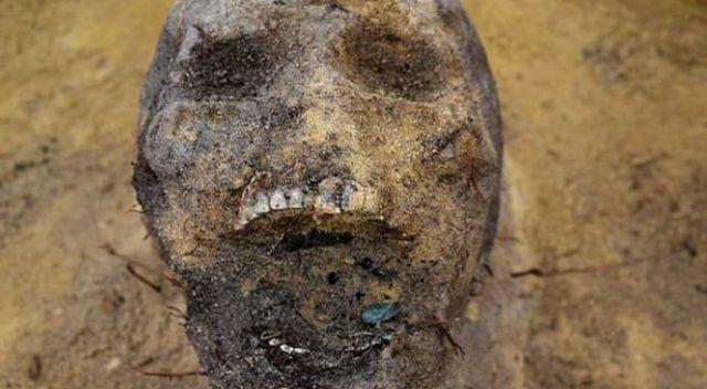Bölge halkı şokta! Ağzında para bulunan onlarca çocuk iskeleti ortaya çıkarıldı