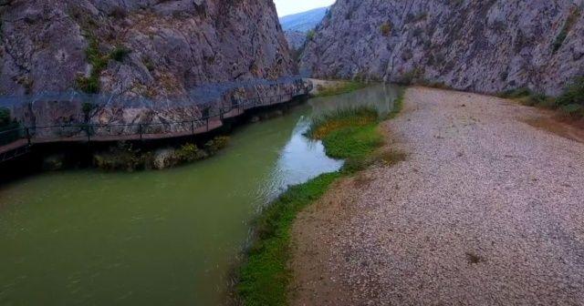 İncesu kanyonu doğal güzelliği ile görenleri hayran bırakıyor