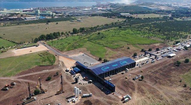 Türkiye'nin Otomobili'nin üretileceği alan havadan görüntülendi.