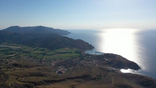 Dünyanın ilk ve tek sakin adası Gökçeada'dan korkutan görüntüler
