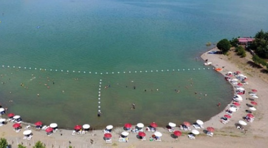 Ne Bodrum ne Marmaris! Elazığ'ın gizli denizi 'Hazar Gölü' tatilcilerin ilgi odağı oldu