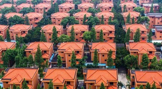 Muhtarı sayesinde zengin olan köyde herkese villa veriyorlar! Ama bir şart var