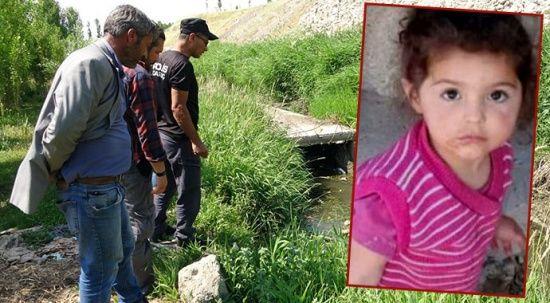 Van'da dün kaybolan 2 yaşındaki Melek'ten acı haber
