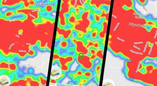 İşte koronavirüs yoğunluk haritası! 4 büyükşehirde son durum