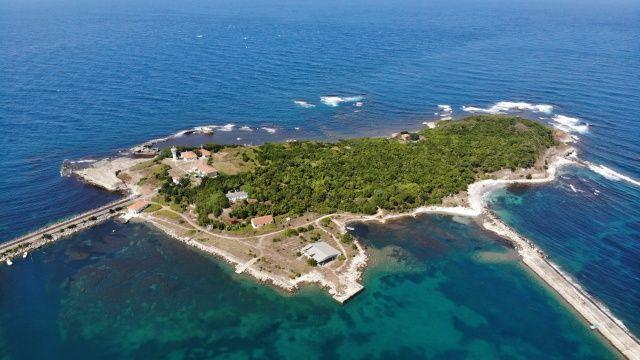 Kocaeli'deki bu adada sadece bir aile yaşıyor!