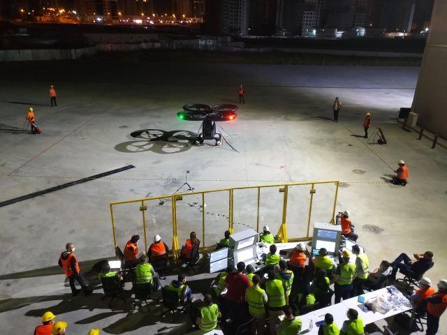 Türkiye'nin ilk uçan arabası Cezeri, ilk uçuş testlerini başarıyla tamamladı