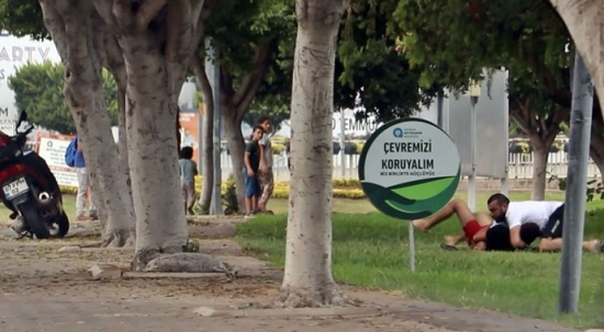 Antalya'nın göbeğinde kuzenlerin bitmek bilmeyen kavgası