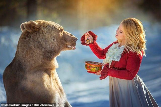 Rus ayısı model oldu