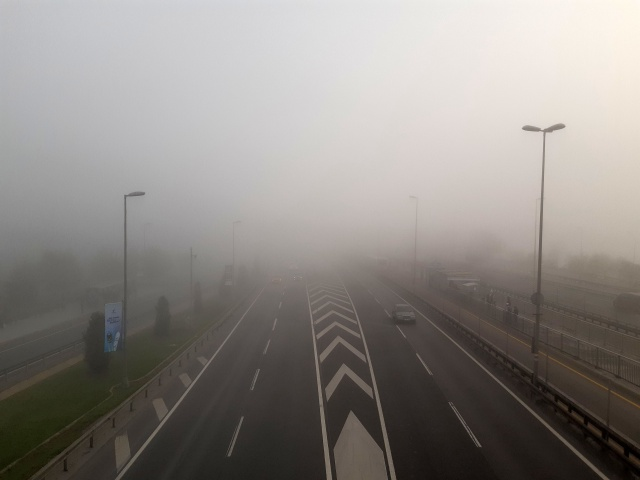 İstanbul'da vapur seferlerine sis engeli