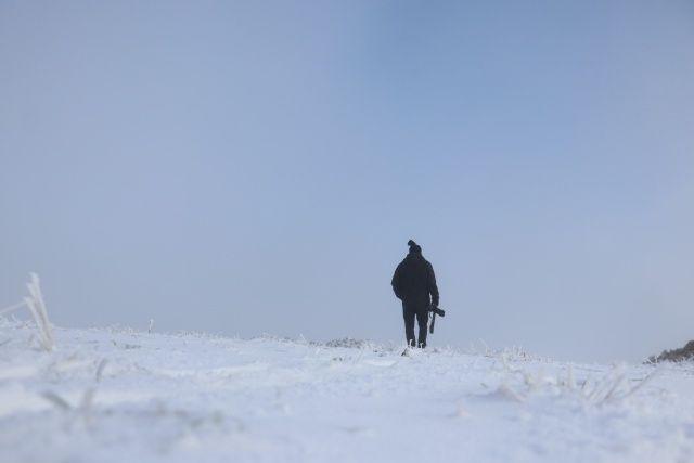 Heyecanla bekleniyordu! Ilgaz'da kar kalınlığı 5 santimetreye ulaştı