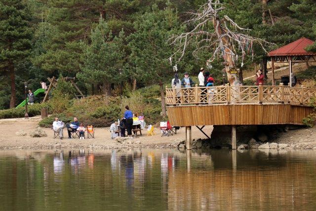 Limni Gölü pandemide insanların huzur bulduğu mekân oldu