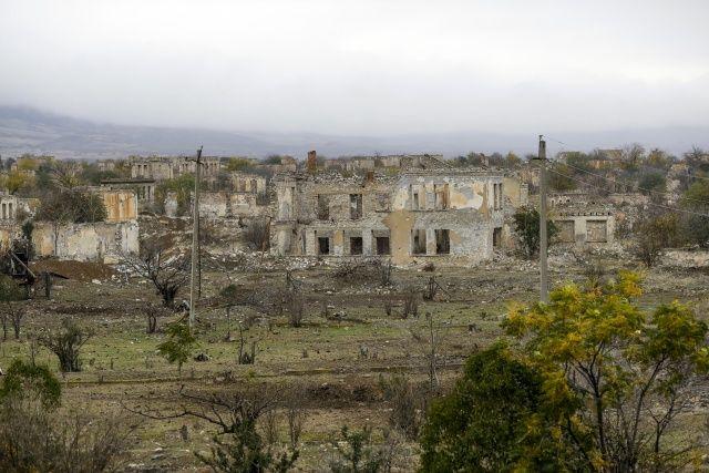 """Ermenistan'ın """"Hiroşima""""ya çevirdiği Ağdam esaretten kurtuldu"""