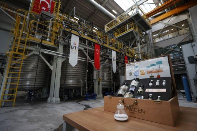 Türkiye'de lityum üretimi başladı