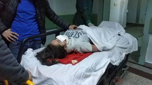 Genç kız hayatının şokunu yaşadı, bir halı onu kurtardı!