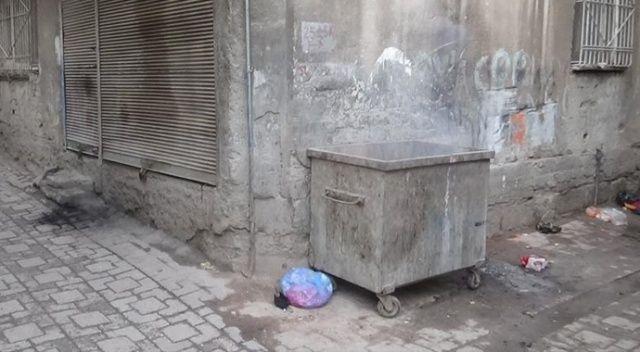 Diyarbakır'da vahşet! Temizlik görevlisi çöpte buldu