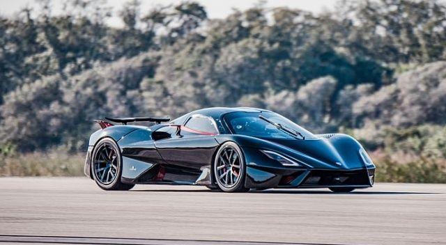 Ortalama 455,2 kilometre hızla dünyanın en süratli otomobili oldu