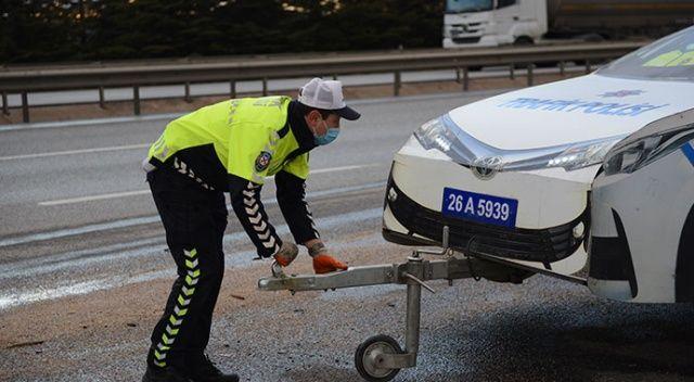 Eskişehir'de taşınabilir 3 boyutlu 'maket polis aracı' üretildi