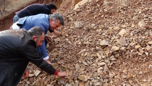 Yol yapımında kullanılıyordu, milyonlarca yılda oluştuğu tespit edildi