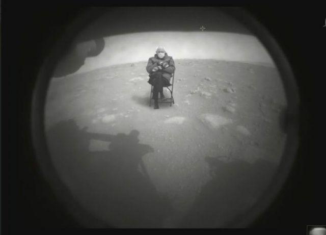 Yurdum insanının Mars muhabbeti