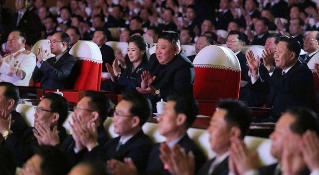 Kim Jong-un'un eşi bir yıl sonra ortaya çıktı