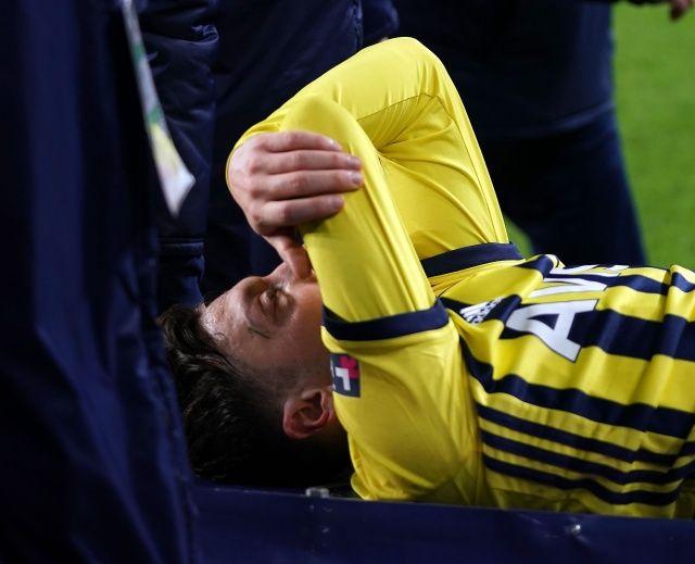 Mesut Özil'den sakatlık açıklaması