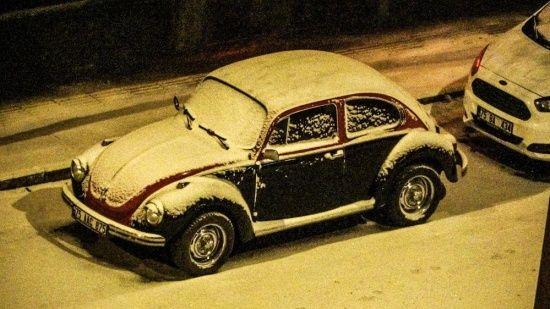 Lapa lapa kar yağdı...