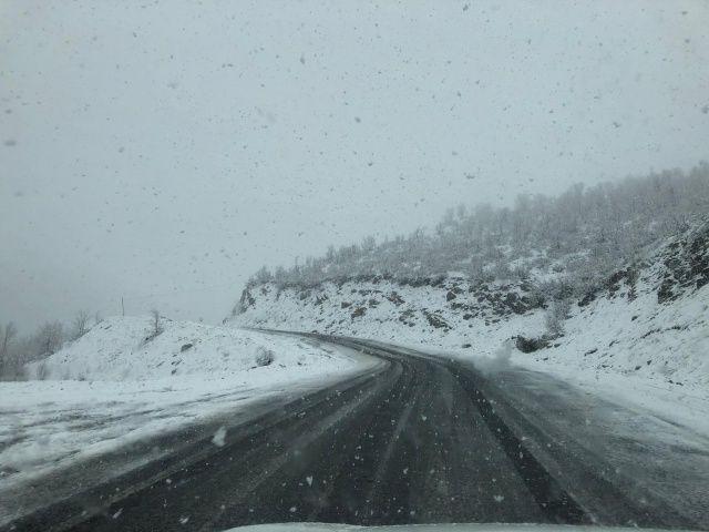 Her yer baharı yaşarken onlar kışı yaşıyor!