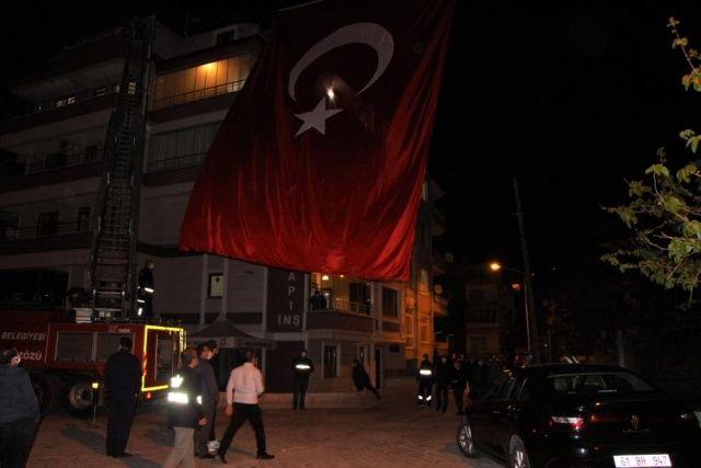 Şehit ateşi Amasya'ya düştü...