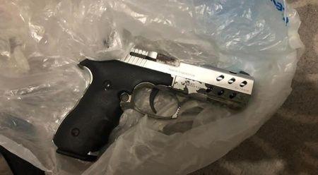 Teröristin evinde Gara şehidinin tabancası ele geçirildi
