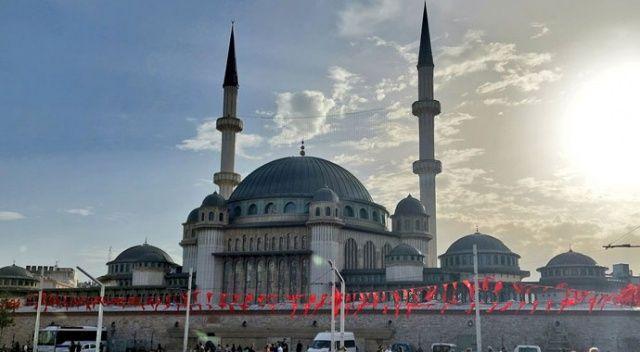 Taksim Camii 4 yıllık emeğin sonucu yarın açılıyor