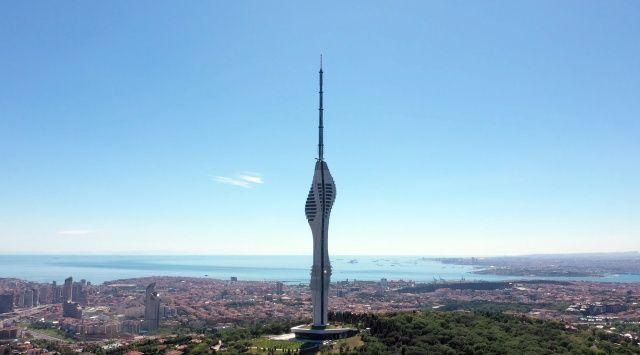 Çamlıca Kulesi, ziyaretçilere açıldı