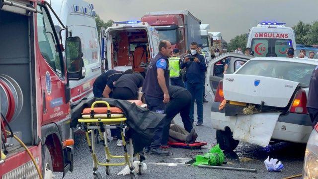 Bursa'da katliam gibi kaza! Çok sayıda ölü ve yaralı var