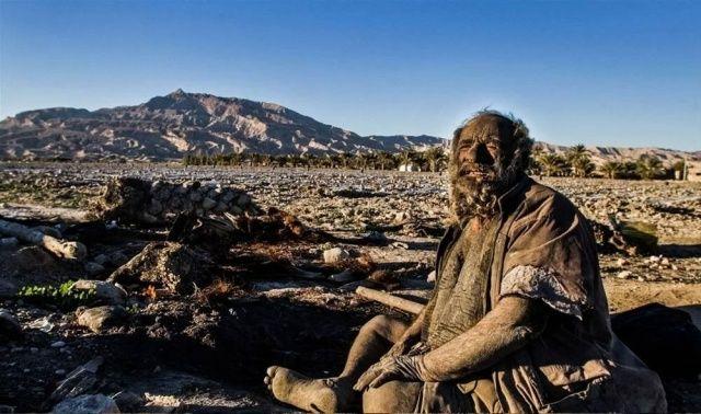 Amoo Hadji'nin sıra dışı hayatı! 65 yıldır yıkanmıyor
