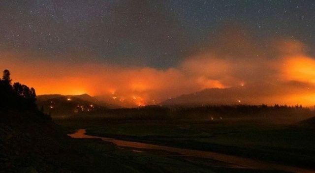 ABD'de aşırı sıcaklar nedeniyle 60'tan fazla orman yangını
