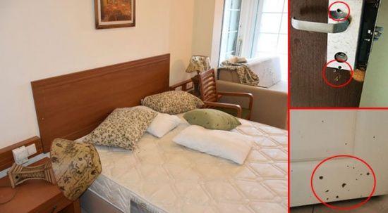 Erdoğan'ın konakladığı oteldeki 'darbe izleri' muhafaza ediliyor
