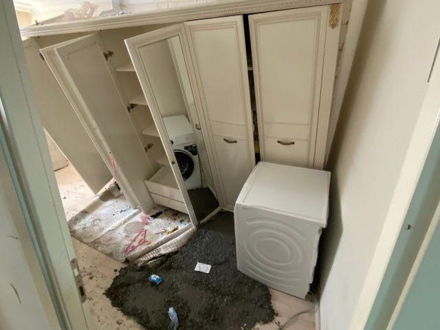 Ev sakinleri odaya girince şoku yaşadı