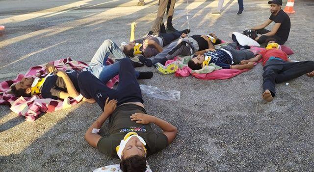 Gaziantep'te feci kaza, çok sayıda ölü ve yaralı var