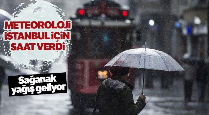 Meteoroloji'den İstanbul için önemli uyarı! O saatlere dikkat ( 19 Nisan Hava Durumu)