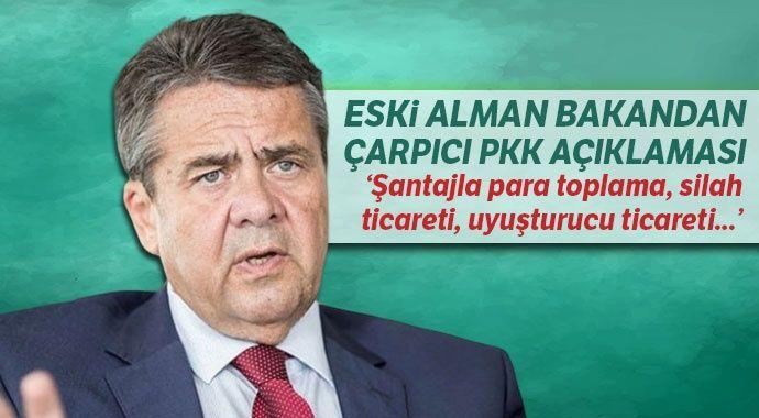 Eski Alman bakandan çarpıcı PKK açıklaması: Şantajla para toplama, silah ticareti, uyuşturucu ticareti...