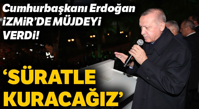 Cumhurbaşkanı Erdoğan müjdeyi verdi! Süs bitkileri organize sanayi bölgesi kuruluyor