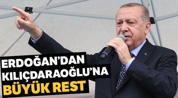 Erdoğan'dan Kılıçdaroğlu'na rest: Cumhurbaşkanlığımı ortaya koyuyorum