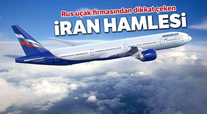 Rus uçak firmasından dikkat çeken İran hamlesi