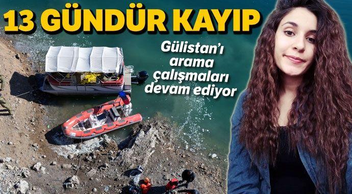 Tunceli'de kaybolan Gülistan'ı arama çalışmaları sürüyor