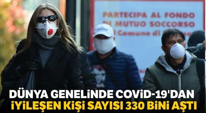 Dünya genelinde Covid-19'dan iyileşen kişi sayısı 330 bini aştı