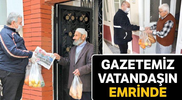Gazetemiz vatandaşın emrinde