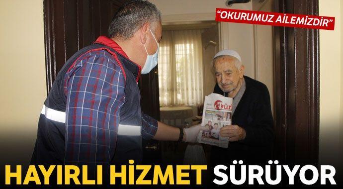 Türkiye gazetesi yaşlılara kol kanat gerdi