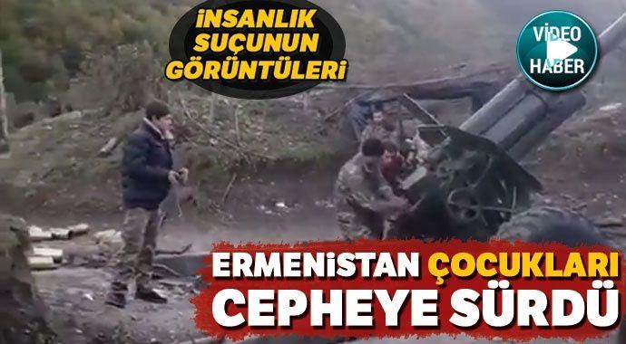 Ermenistan, Azerbaycan ordusuna karşı çocuk askerleri kullanıyor